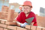 construction mason worker bricklayer - 85129254