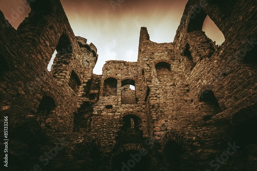 Castle Ruins in Poland