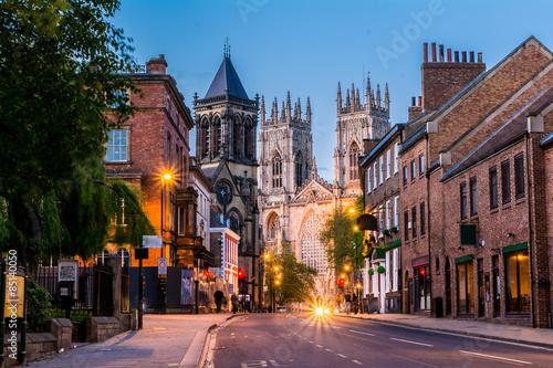 York , Yorkshire,England, UK, night view Poster