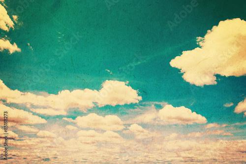 Fototapeta grunge clouds vintage with texture