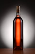 Blush Wine Bottle Backlit