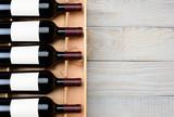 Wine Bottle Case Wood Table
