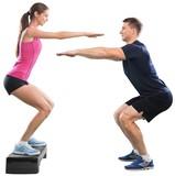 Squats, trainer, bosu.