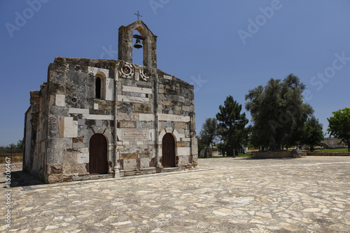 Sardegna chiesa di campagna Poster