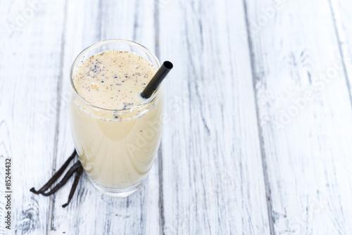 Plexiglas Milkshake Fresh made Vanilla Shake