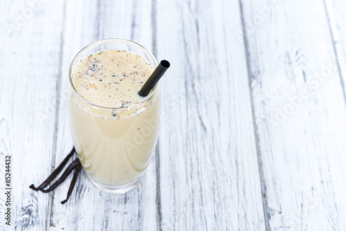 Fotobehang Milkshake Fresh made Vanilla Shake