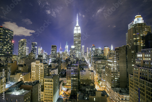 Fototapeta Manhattan at night