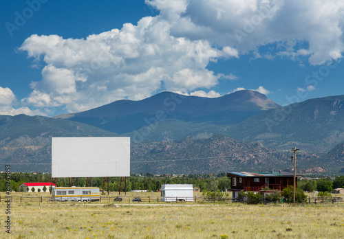 Poster Drive in movie theater in Buena Vista CO