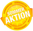 Button Banner 'Sommeraktion' gelb