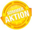 Button Banner 'Sommeraktion' gelb