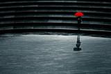parapluie seul solitude triste dépression - 85253068