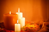 Fall Decor: Thanksgiving Candle Ensemble