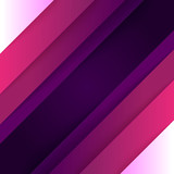 Fototapeta Abstract purple and violet paper triangle shapes background