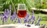 Fototapety Verre de vin Rosé de Provence