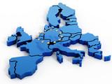 Fototapety Europe map