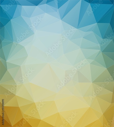 Fotobehang Geometrische Achtergrond Abstract mosaic colorful background