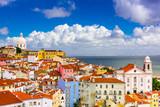 Fototapety Alfama Lisbon Cityscape