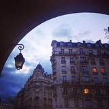 architecture of Paris poster