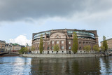 Fototapeta Riksdagen. Swedish parliament building