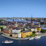 Panorama Sztokholmu, Szwecja