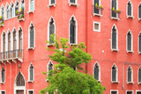 Fototapeta Old building's facade