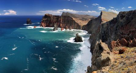 Northern coastline of Ponta de Sao Lourenco (Madeira)