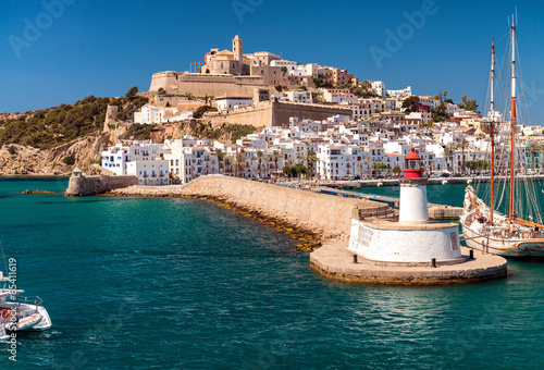 Ibiza port, spain