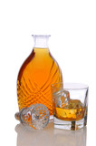 Decanter with Glass of Scotch