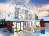 Fototapety Luxury villa plan