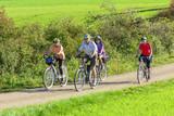 Fototapety Senioren-Radtour im Herbst