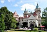 Fototapeta Bojnice castle, Slovakia, Europe