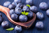 Fototapety Fresh blueberries - healthy diet