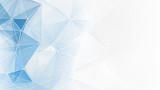 Fototapety abstract blue white geometrical web background