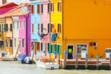 Fototapeta The island of Burano. Italy.