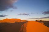 Fototapeta erg chebbi sand dunes