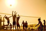 volleyball on beach