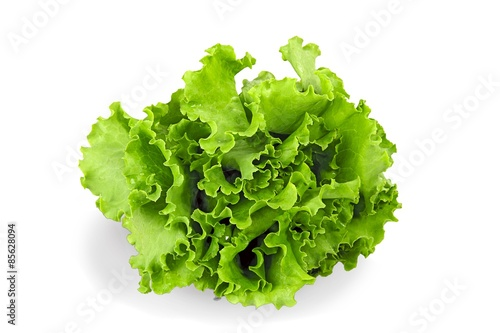 Poster Lettuce, Vegetable, Isolated.