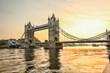 roleta: Tower Bridge in London, England