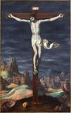 Granada - crucifixion paint from in Monasterio de la Cartuja