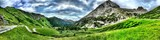 Fototapety Breathtaking panorama of Italian's Dolomiti Mountains
