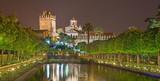 Fototapeta Cordoba - The gardens of Alcazar de los Reyes Cristianos