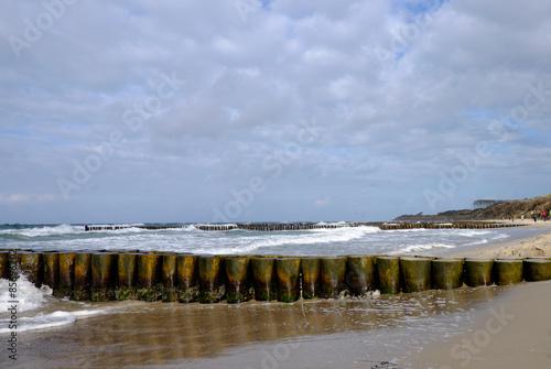 Foto op Canvas Noordzee Strand im Ostseebad Wustrow, Mecklenburg-Vorpommern, Deutschland