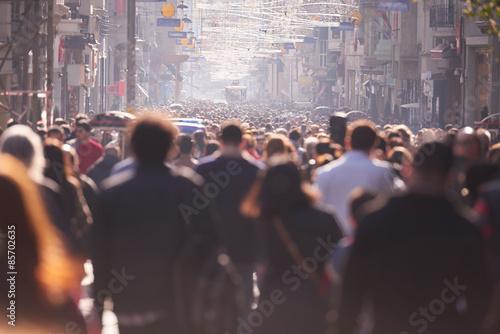 Zatłoczone ulice