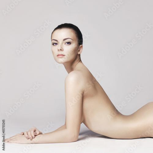 Foto op Plexiglas womenART Elegant naked lady