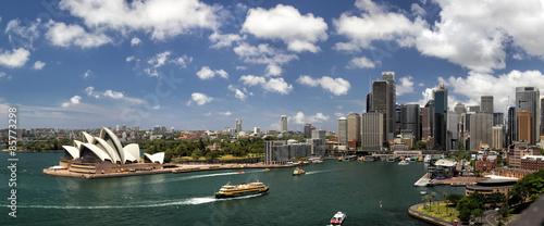 Fotobehang Sydney Sydney Panorama