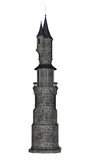 Fototapety Castle tower - 3D render