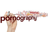 Pornography word cloud