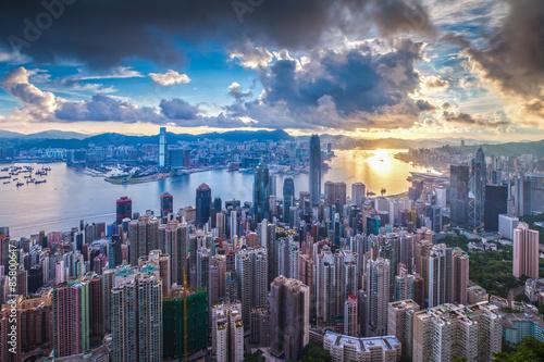 Poster City at Sunrise