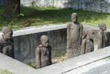 Zanzibar, Stone Town, the slave memorial near the Anglican church