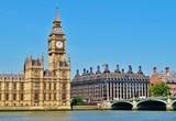 Fototapeta Big Ben, Parlament, Westminster-Brücke